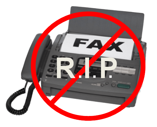 We will no longer receive or send fax effective immediately Jan 16, 2020